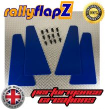 UNIVERSAL MINIFLAPZ  / SPLASH GUARDS - PERFORMANCE BLUE